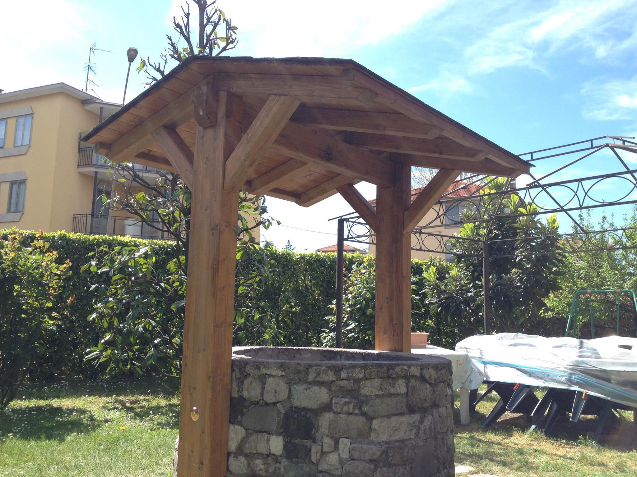 tettuccio in legno